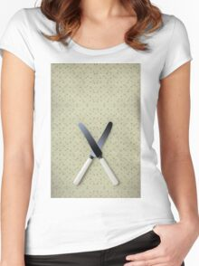 knives Women's Fitted Scoop T-Shirt