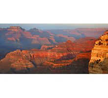 Grand Canyon Sunset Panorama Photographic Print