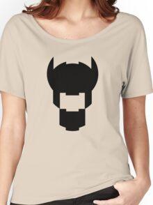 Batman Design Black Women's Relaxed Fit T-Shirt