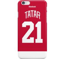 Detroit Red Wings Tomáš Tatar Jersey Back Phone Case iPhone Case/Skin