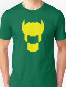 Batman Design Yellow Unisex T-Shirt