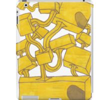 Yellow 3D Blocks by Seth Cummins iPad Case/Skin