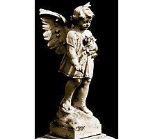 Cemetery Angel Photographic Print