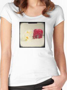 Little elephant Women's Fitted Scoop T-Shirt