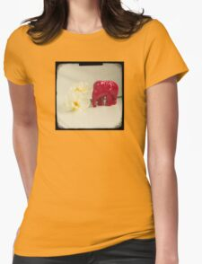 Little elephant Womens Fitted T-Shirt