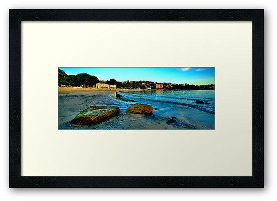 Blue Dawn - The Photographers Cut - Balmoral Beach - The HDR Experience by Philip Johnson