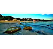 Blue Dawn - The Photographers Cut - Balmoral Beach - The HDR Experience Photographic Print