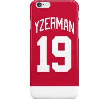 Detroit Red Wings Steve Yzerman Jersey Back Phone Case iPhone Case/Skin