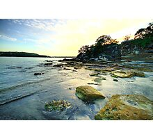 On The Rocks - Balmoral Beach - The HDR Experience Photographic Print