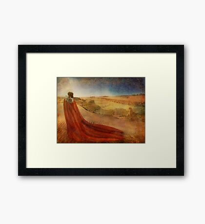 In a Maasai Dream Framed Print