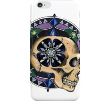 Mandala skull iPhone Case/Skin