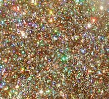 Golden Glitter Frenzy by CloverFi