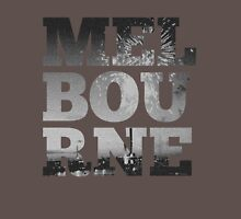 MELBOURNE - text with Bolte Bridge Picture Unisex T-Shirt