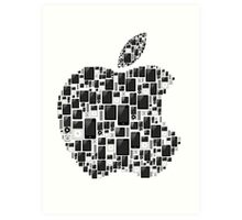 Apple - Ipod, Ipad, Iphone Art Print