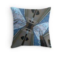 arch - squar - Artcage Throw Pillow