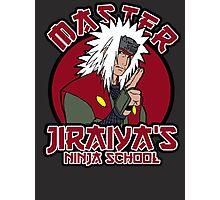 Master J Ninja academy Photographic Print