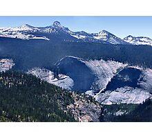 Panoramic View Yosemite Valley Photographic Print