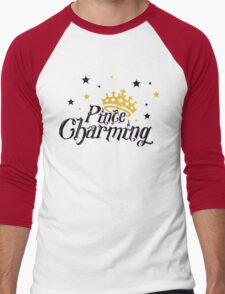 Prince Charming Men's Baseball ¾ T-Shirt