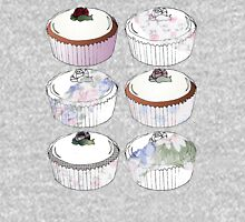 cup cake medley Womens Fitted T-Shirt