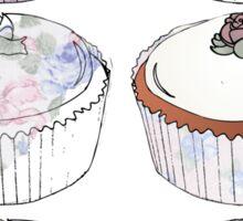 cup cake medley Sticker