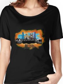 Melbourne City- City Collage Women's Relaxed Fit T-Shirt