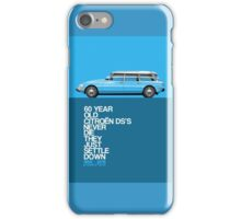 Citroen DS Safari / Break 60th anniversary iPhone Case/Skin