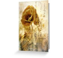 Memories and time Greeting Card