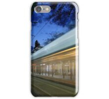 The train left at 8 iPhone Case/Skin