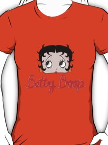 Betty Boop Cartoon Head T-Shirt