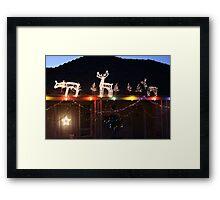 Light up the night. Framed Print