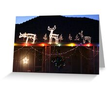 Light up the night. Greeting Card