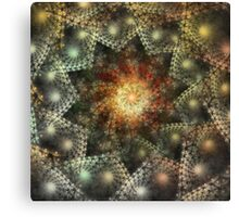 'Crystalline Knowledge (Crystal)' Canvas Print