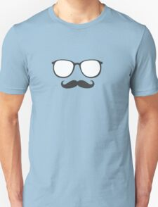 Sunglasses and Mustache Unisex T-Shirt