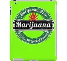 MARIJUANA BEER  iPad Case/Skin