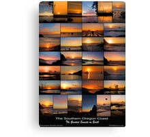 The Greatest Sunsets on Earth Canvas Print