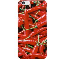 Red Chillies iPhone Case/Skin