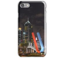 China - financial district of Shanghai iPhone Case/Skin