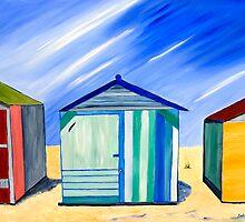 Beach Shacks by sulaartist