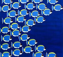 Blue Shoal by sulaartist
