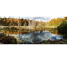Beaver Pond in Gatineau Park Photographic Print