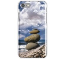 Cairns and Clouds iPhone Case/Skin