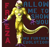 Golden Frieza - Revival of F Photographic Print