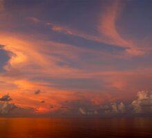 Calm sea. by Jim Thomson