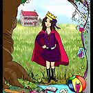 Princess Rain and the Dragon pg 2 by Wendy Crouch