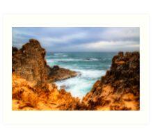 Coastline View Art Print