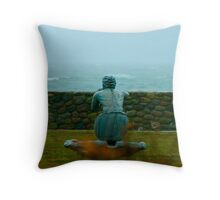Ocean Gazer Throw Pillow