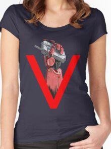 Phantom Pain  Women's Fitted Scoop T-Shirt