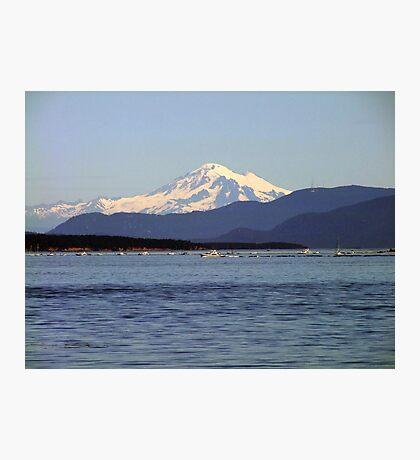 Mountain,Sea and Sky Photographic Print