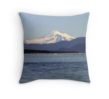 Mountain,Sea and Sky Throw Pillow