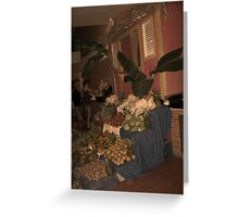 Little Red Fruit Stand Greeting Card